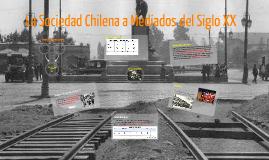 Sociedad Chilena a Mediados del Siglo XX