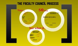 Faculty Council Process