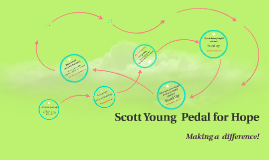 Scott Young  Pedal for Hope
