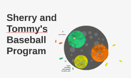 Sherry and Tommy's Baseball Program
