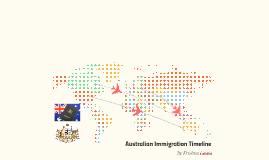 Australian Immigration Timeline