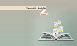 Humanities Insights
