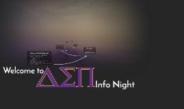 Info Night