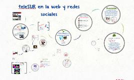 Periodistas y programas de teleSUR en Redes Sociales
