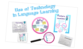 The use of technology in language learning