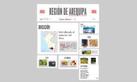 Copy of REGIÓN DE AREQUIPA