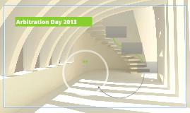 Arbitration Day 2013