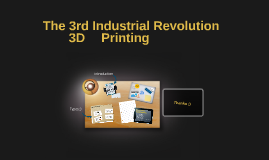 The 3rd Industrial Revolution