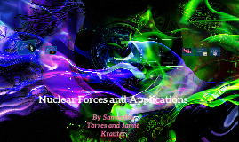 Nuclear Forces and Applications