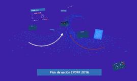 Líneas de acción CPDRF 2016