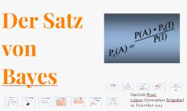 Der Satz von Bayes