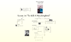 Scout in To Kill A Mockingbird