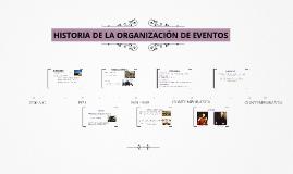 Copy of HISTORIA DE LA ORGANIZACIÓN DE EVENTOS