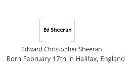 Ed Sheeran - Guitar Project