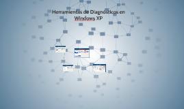 herramientas de diagnósticos en windows xp