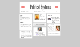 Copy of Political Systems