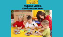 Copy of ESTÁNDARES DE DESEMPEÑO PROFESIONAL DOCENTE
