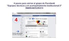 4 pasos para unirse a un grupo en Facebook