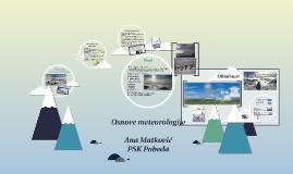 Osnove meteorologije