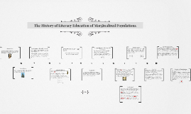 The History of Literacy Education of Marginalized Population