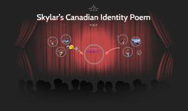 Skylar's Canadian Identity Poem