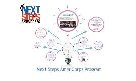 Next Steps AmeriCorps SUMMER Program