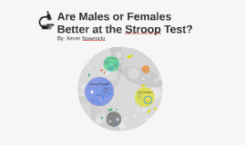 Are Males or Females Better at the Stroop Test?