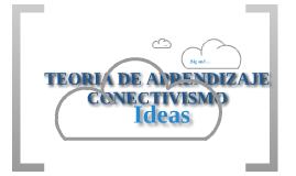 TEORIA DE APRENDIZAJE- CONECTIVISMO