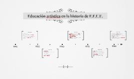 Copy of Educación artistica en la historia de E.E.U.U.