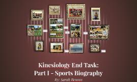 Kinesiology Endtask: