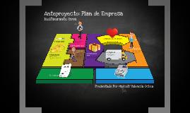 Anteproyecto - Restaurante