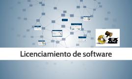 Licenciamiento de software