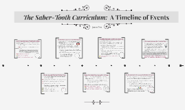 saber tooth curriculum reaction paper The saber-tooth curriculum is a famous satire on curriculum development, which was published in 1939 it tells the story of new-fist this paper describes the curriculum development process that will be used to develop the national curriculum.
