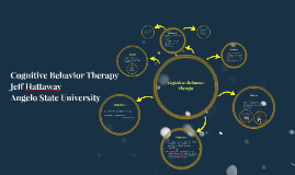 Cognititive Behavior Therapy