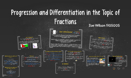 Copy of Progression and Differentiation in Fractions, Decimals and P