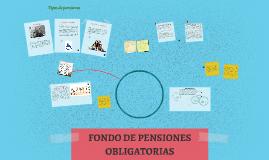 FONDO DE PENSIONES OBLIGATORIAS