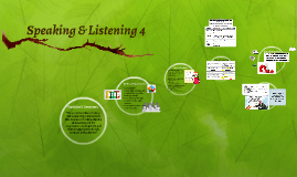 Speaking & Listening 4