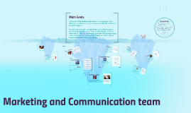 Marketing and Communication