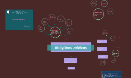 Disciplinas Jurídicas