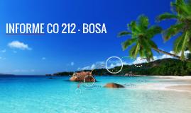 INFORME CO 212 - BOSA