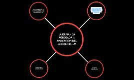 Aplicación del modelo IS-LM
