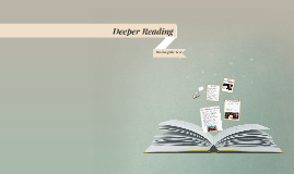 Deeper Reading: Marking the Text