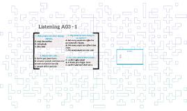 Listening A03 - 1
