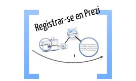 Registrar a Prezi