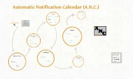 Automatic Notification Calendar