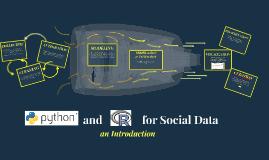 Social Data - Python and R Intro
