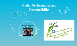 Global performance and responsibility