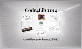 Code4Lib 2014