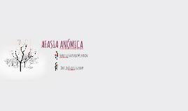 AFASIA ANÓMICA
