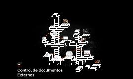 Control de documentos Externos